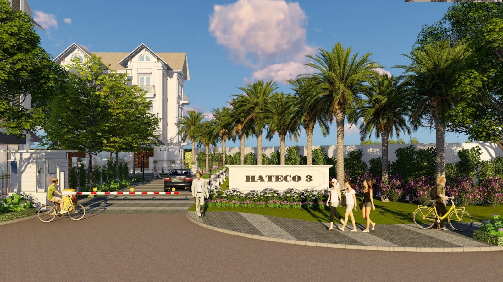 Khu biệt thự, liền kề – chung cư Hateco Xuân Phương