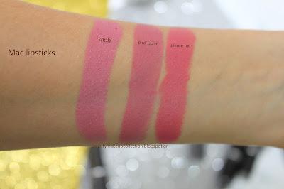 nude lipsticks swatches