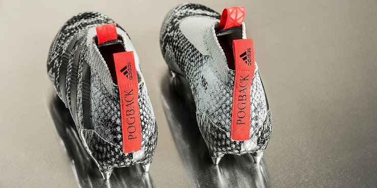 cheap for discount 82c43 8f9a5 Pogba Shows Off Custom Adidas Ace PureControl