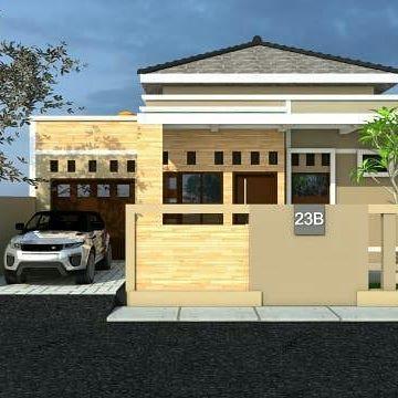 desain rumah sederhana dengan biaya murah ukuran 5 x 10