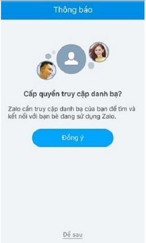 Đăng nhập Zalo bằng số điện thoại di động trên Máy tính e
