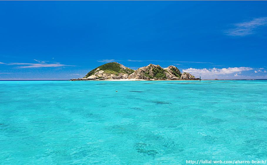 沖繩-海灘-推薦-阿波連海灘-Aharen-Beach-阿波連ビーチ-Okinawa-beach-recommendation