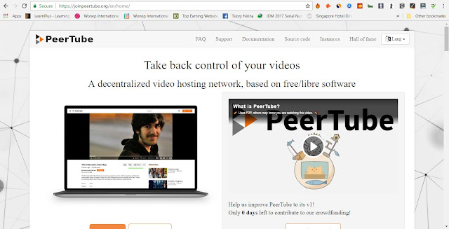 PeerTube Video Streaming site