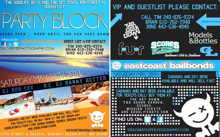 DJ ROBCEE: Memorial Weekend 2011 Pool Party - Ocean City MD