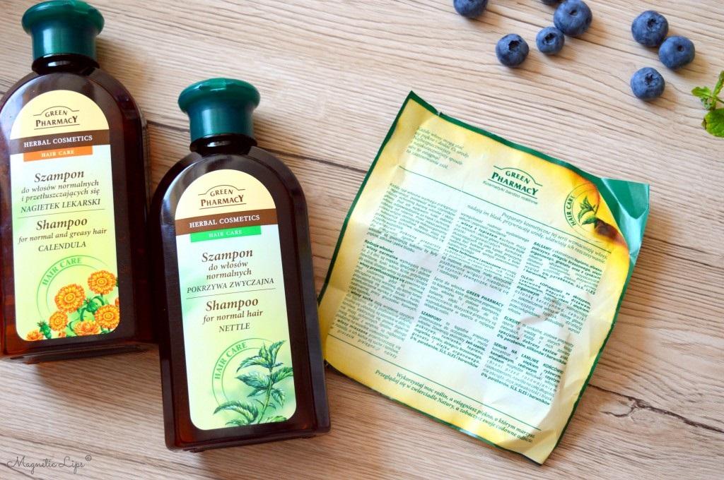 green pharmacy szampony
