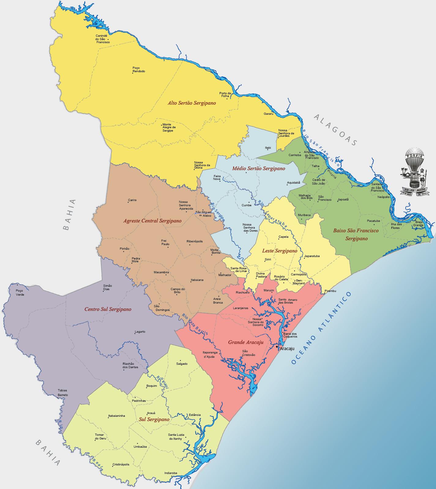 Sergipe | Top 10 Maiores Cidades do Estado de Sergipe