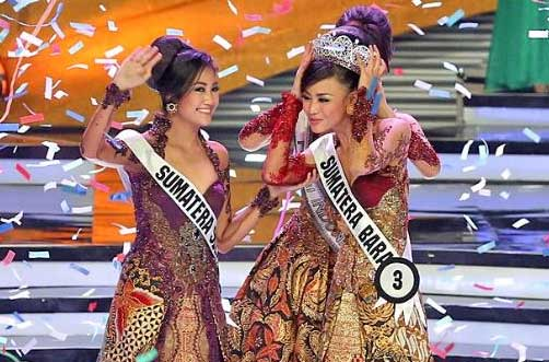 ''Gadih'' Minang Whulandary Dinobatkan Jadi Putri Indonesia 2013