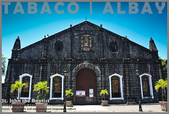 St. John the Baptist Church - one of the best tourist spots in Tabaco, Albay