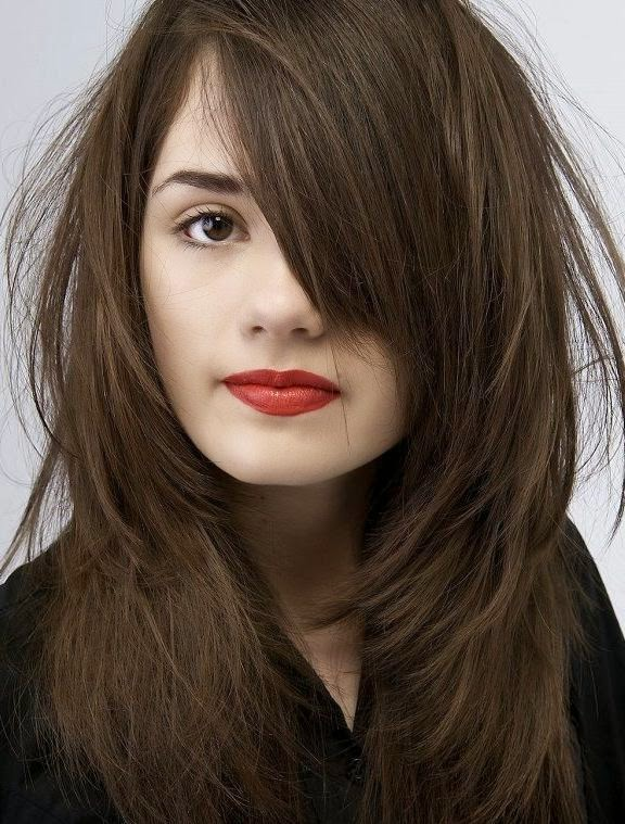 Hairstyle for short hair indian