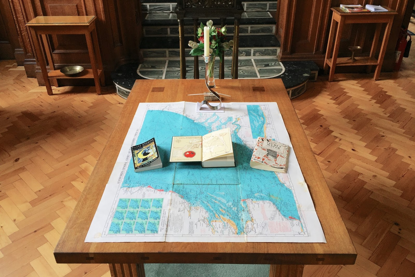 my old sea chart pirate utopias and secret water on the communion table
