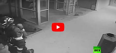 لحظة وقوع تفجير في مسجد بأمريكا