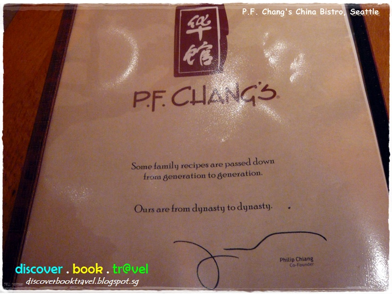 photo regarding Pf Changs Printable Menu identify Cafe Overview: P.F. Changs China Bistro, Seattle