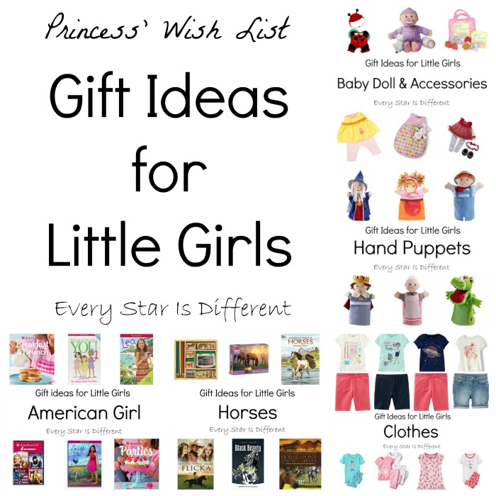 Gift Ideas for Little Girls - Every Star Is Different