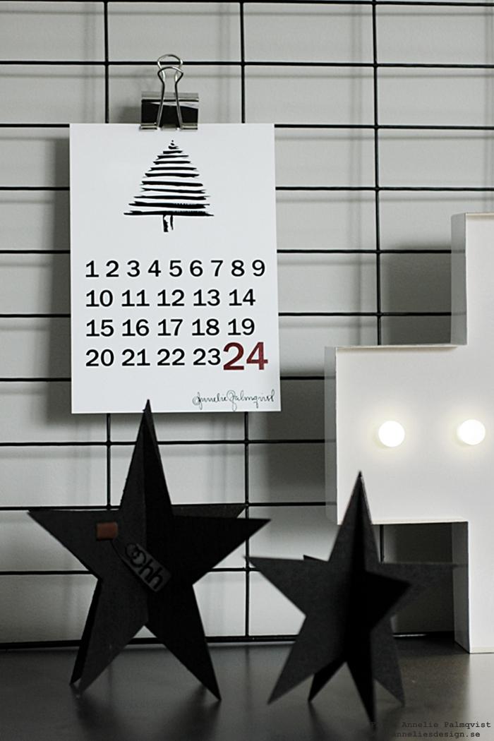 räkna ner poster, posters, annelies design, stjärna stjärnor, jul, julen 2016, julpynt, inredning, webbutik, webshop, nätbutik, nätbutiker, Oohh, svarta stjärnor, cirkuslampa, plus, kors, lampa, lampor, cirkuslampor,