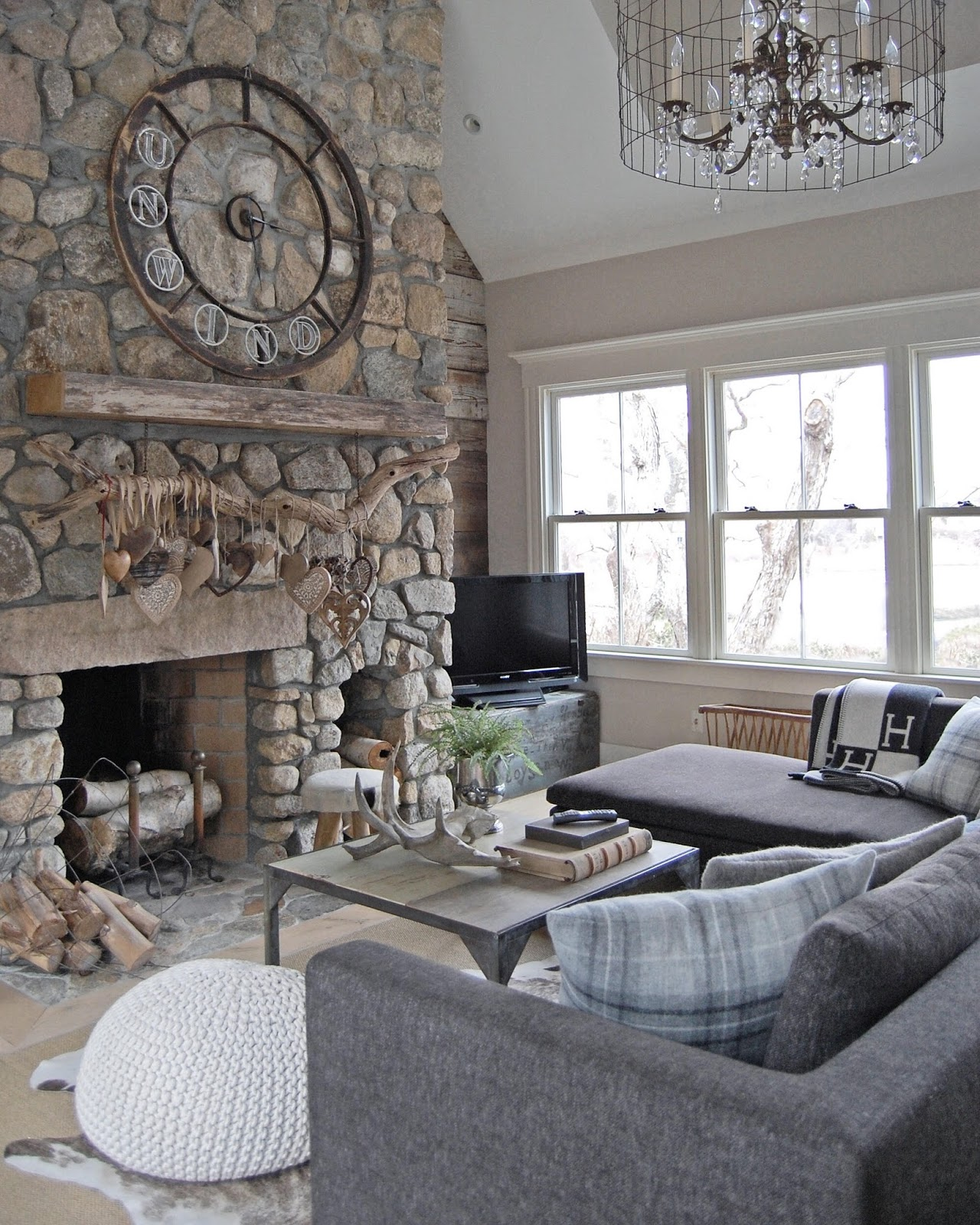 decorated mantel old silver shed fireplaces with heart and soul