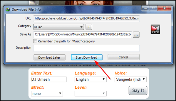 download dj voice tag