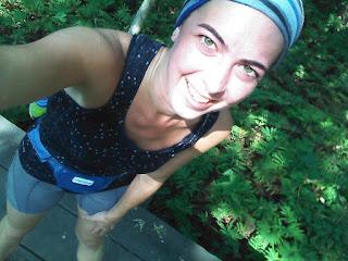 Parc-nature du Bois-de-liesse coureuse souriante forêt