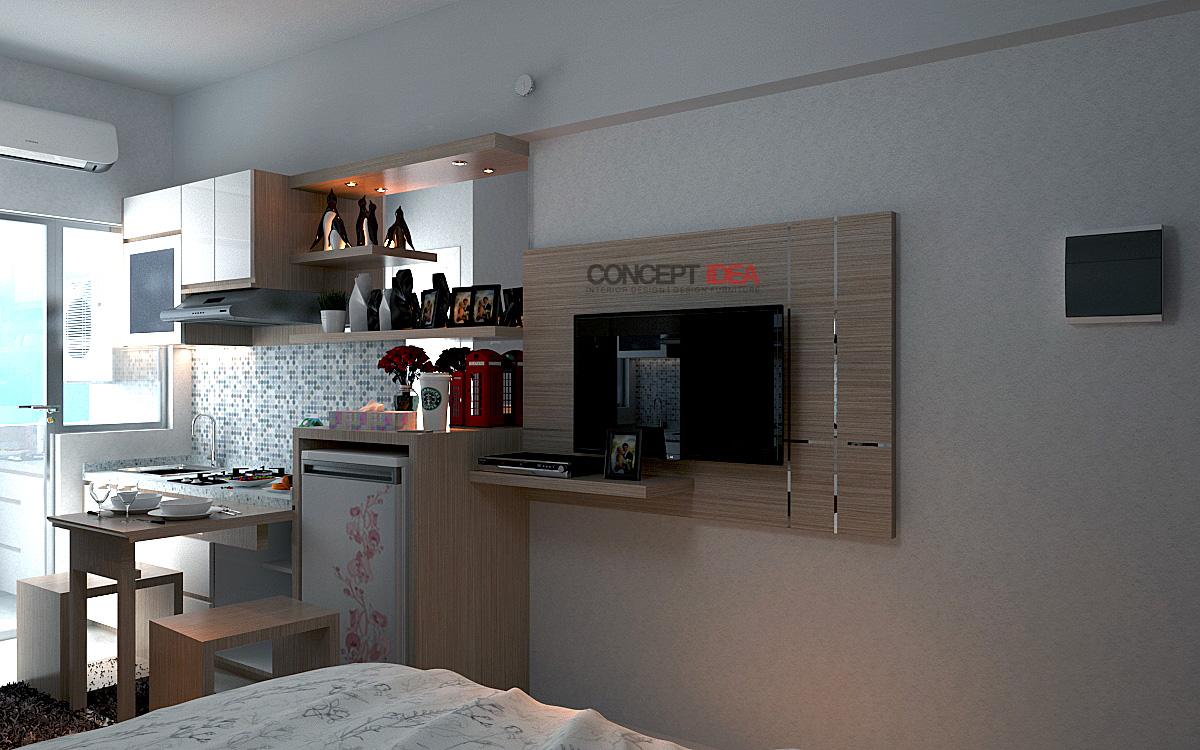 Concept idea design interior apartemen gunawangsa merr for Design interior surabaya
