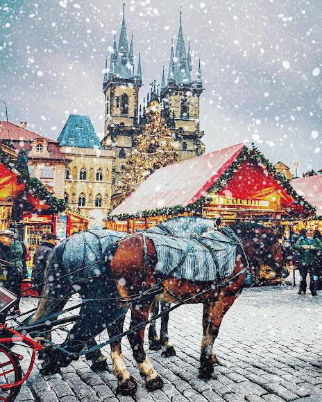 Christmas places prague