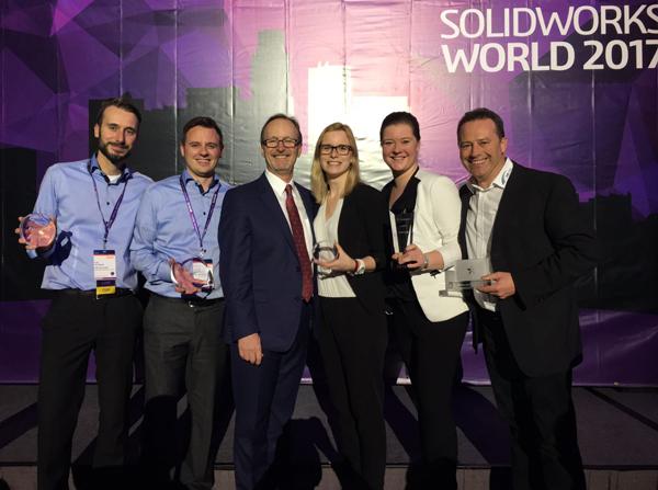 MB CAD Auszeichnungen SOLIDWORKS 2017
