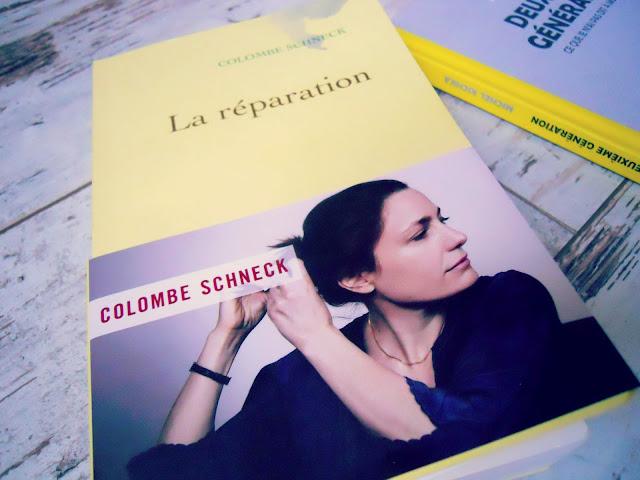 La réparation de Colombe Schneck : Choisir la vie en guise de réparation (Litterature francaise) 1