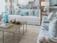 Teal Color Living Room Decor