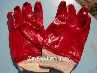 Перчатки для бетона