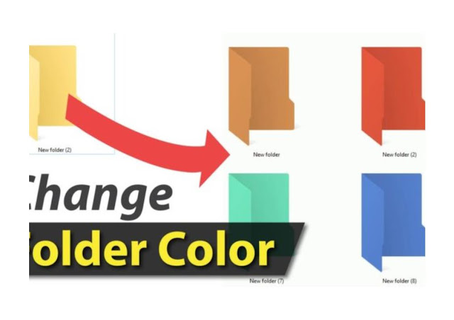 How to Change the Colour of a Folder In Windows 7,8, and 10