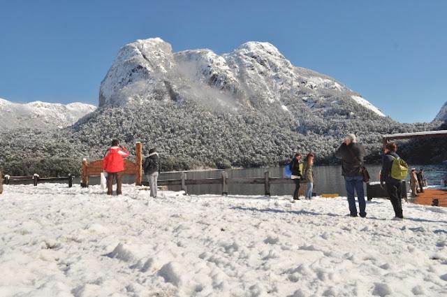 Invierno En Patagonia: Puerto Blest En Invierno En Bariloche