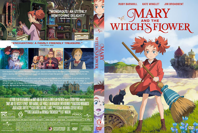 Mary and the Witch's Flower DVD Cover
