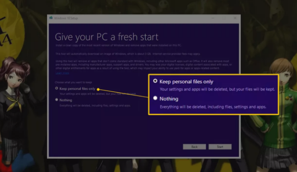 Cara Menggunakan Windows 10 Supaya Fresh Start 3
