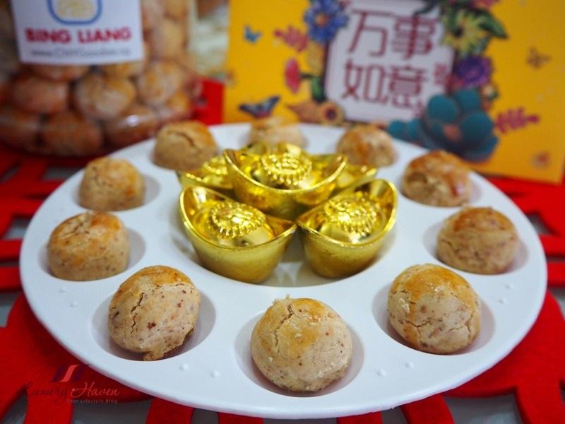 chinese new year snacks premium peanut cookies