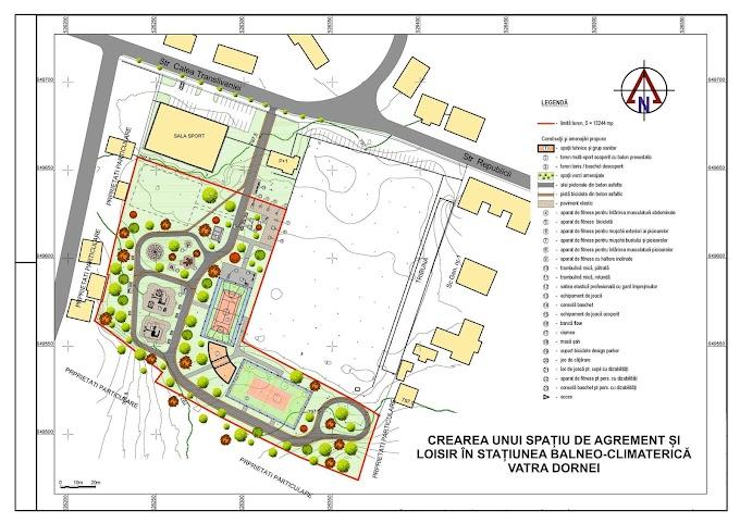 Primăria Vatra Dornei insistă cu promovarea proiectului bazei sportive, în ciuda semnalelor de alarmă trase