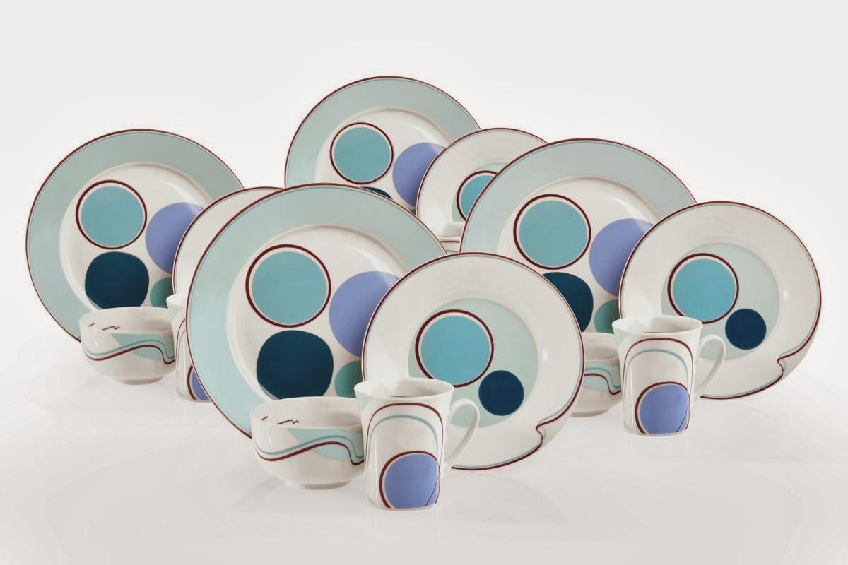 Halsa Livliga dinnerware