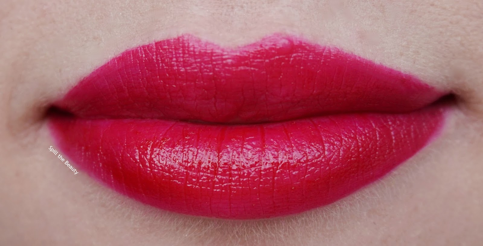 too faced melted ruby review lip swatch