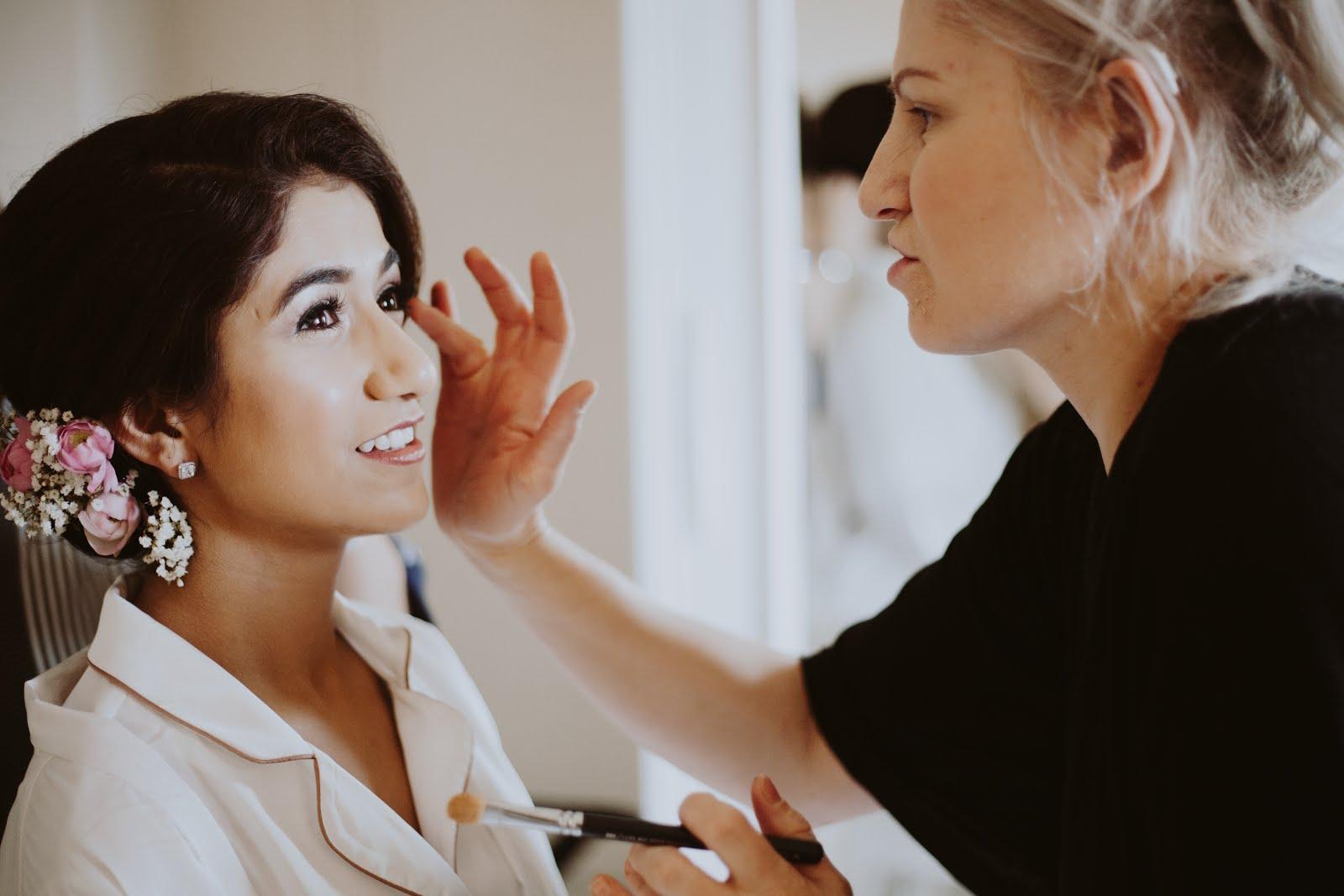 my bridal hair and make up | fatima writes | lifestyle blog