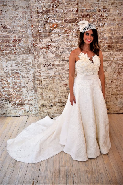 Susan Brennan Toilet Paper Wedding Gown