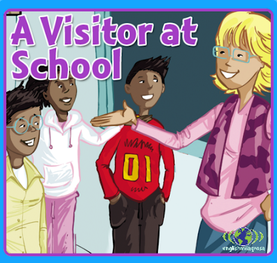 http://englishmilagrosa.blogspot.com.es/2017/02/a-visitor-at-school-story-4th-grade.html