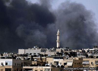 Cristianos de Alepo aterrados ante una posible masacre