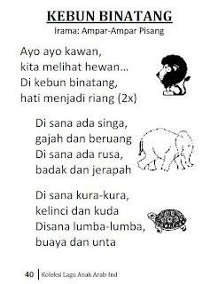 Koleksi Lagu Anak Indonesia Arab Taufiq Net