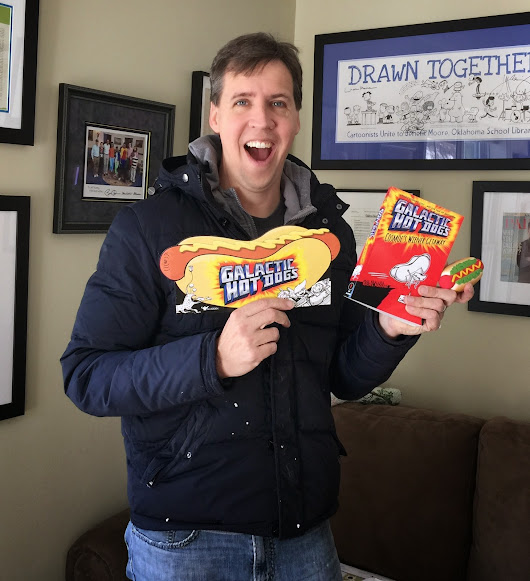 Jeff Kinney gets psyched about Galactic Hot Dogs!