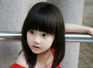 Model Rambut Poni Anak Perempuan