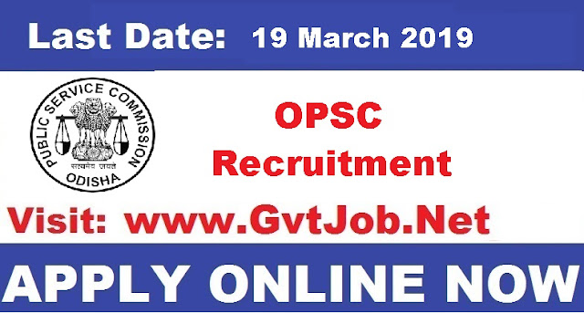 OPSC Recruitment 2019 06 Assistant Director Posts Know How To Apply Sarkari Jobs