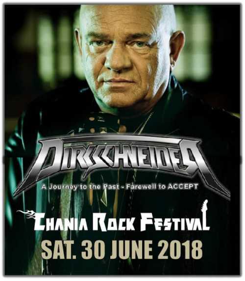 Ο UDO στο Chania Rock Festival