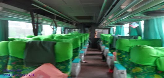 interior bus lorena karina super executive