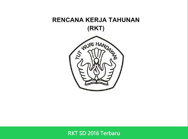 RKT SD 2016 Terbaru