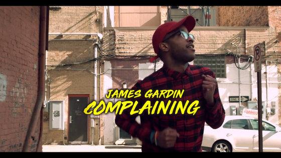 """James Gardin lança o clipe """"Complaining"""""""