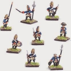 AWG7 Hessian Grenadiers, Regt Rall, including command.