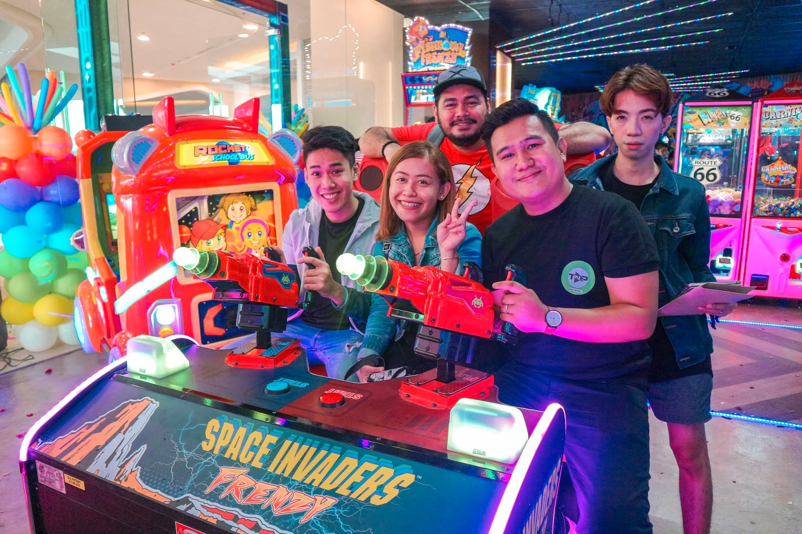 TAP N PLAY Arcade Opens at NCCC Mall Buhangin