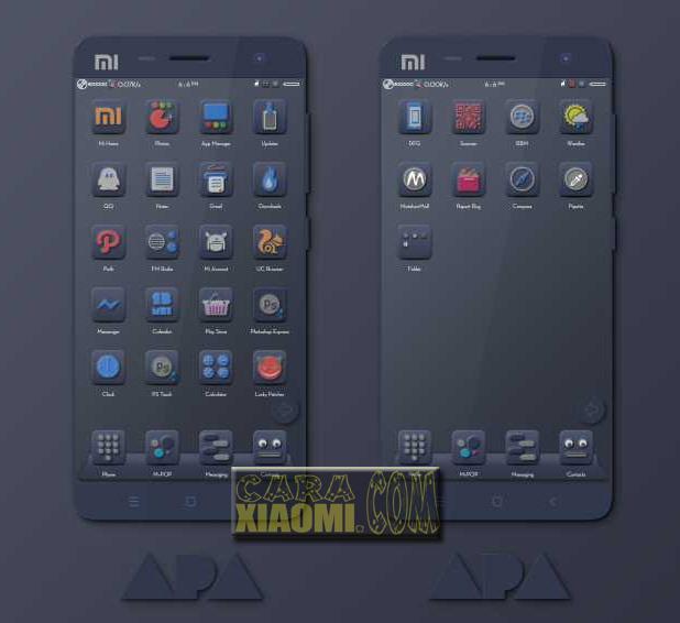 Download Tema Xiaomi MIUI APA Theme Update Fix